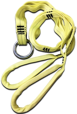 Multi-Loop Rescue Strap with Ring