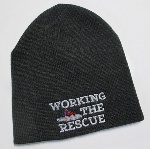 Working The Rescue Beanie Cap