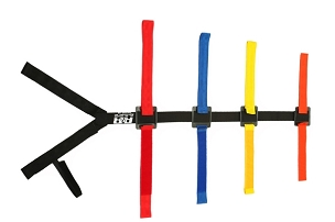 BOARD HARNESS W/TRADITIONAL VELCRO® BRAND 40